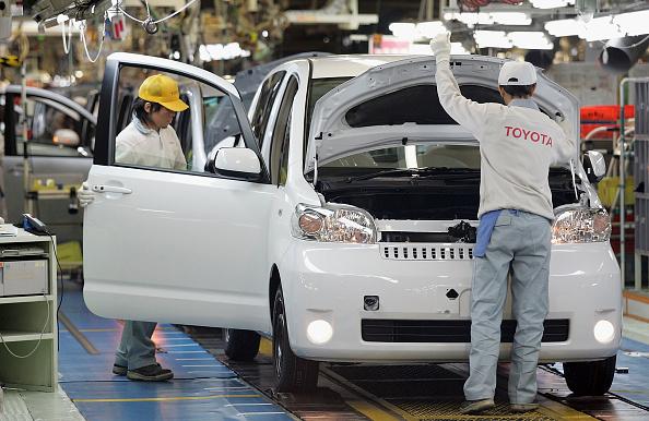 豐田關閉日本國內5家工廠 停產一段時間