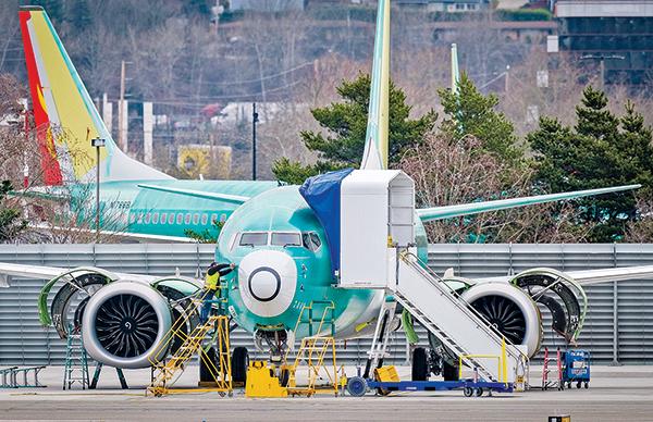 波音在華盛頓州倫頓的一個飛機生產廠。(Getty Images)