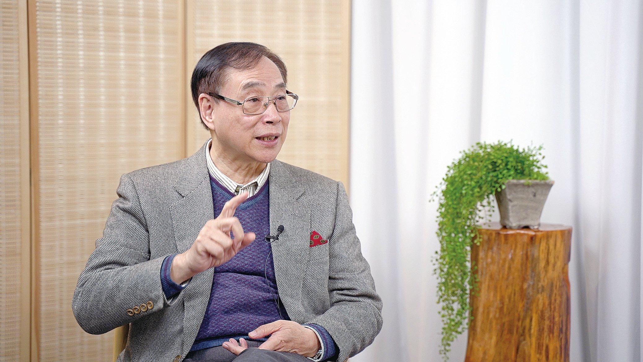 香港新界鄉議局研究中心主任薛浩然。(大紀元)