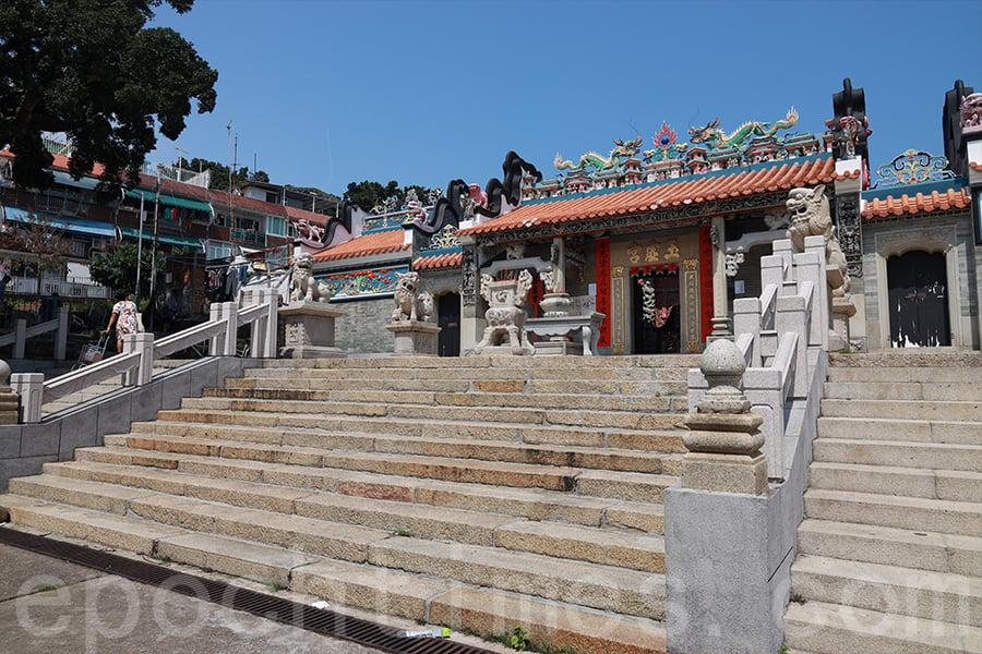 長洲北帝廟。(陳仲明/大紀元)