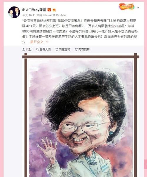 港府推新措施抗疫 向太鬧爆林鄭:冇智商