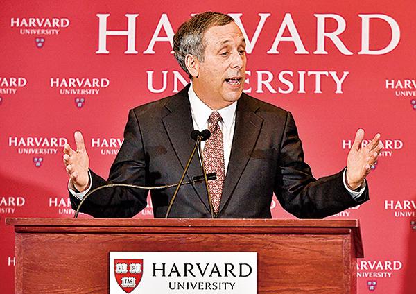 哈佛校長感染中共病毒 哈佛被稱第二中央黨校
