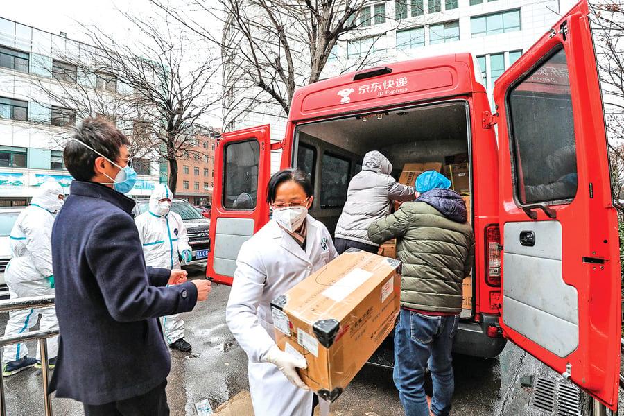美華人捐贈物資被賣回美國?爆料人遭威脅
