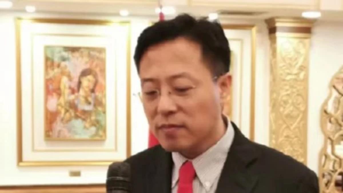 中共外交部發言人趙立堅。(影片截圖)