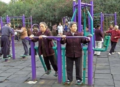 中國老齡化在沒有富裕化下已經出現。(網絡圖片)