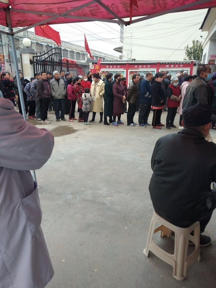 江蘇某鎮數萬人抽血體檢 原因不明
