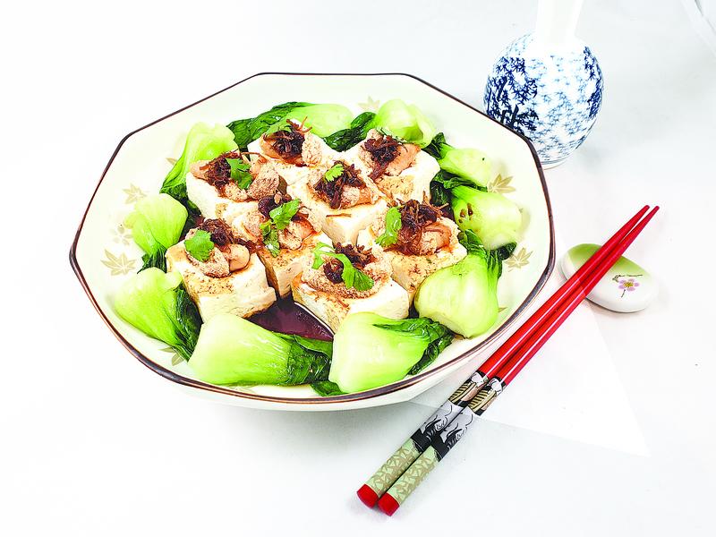 【梁廚美食】明太子蒸豆腐