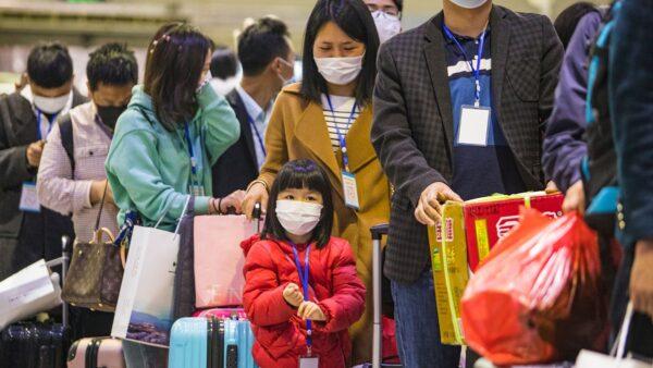 消息稱,在貴州,至少有幾千名湖北人遭自費隔離。示意圖。(STR/AFP via Getty Images)