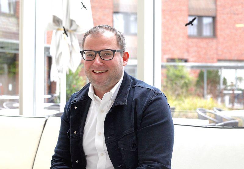 2020年3月4日,羅貝爾特・羅特先生(Robert Rother)在德國波恩接受《大紀元》記者專訪。(黃芩/大紀元)