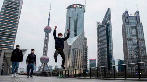 圖為上海陸家嘴金融中心。(NOEL CELIS/AFP via Getty Images)