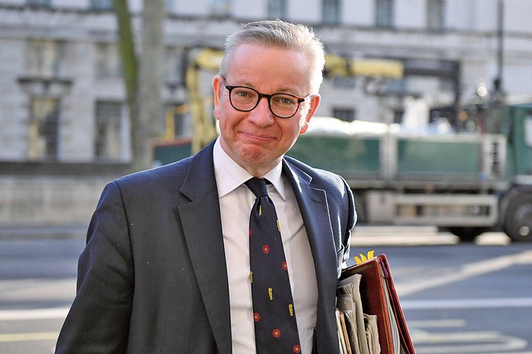 英國內閣大臣高文浩(Michael Gove)在媒體公開表示,中共政權應該為英國沒有及時展開大規模測試負責,這可能導致兩國之間外交緊張加劇。(Getty Images)