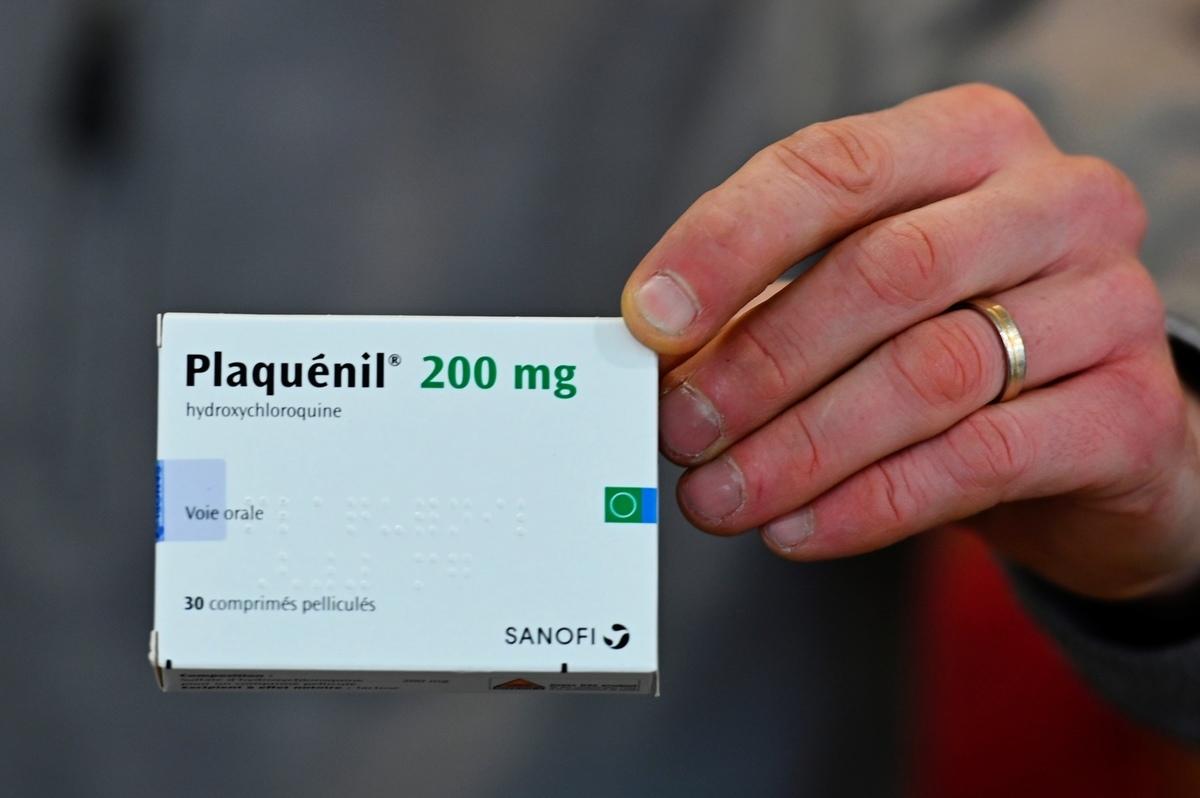 抗瘧藥羥氯喹(hydroxychloroquine,常用藥名Plaquenil)已獲得美國藥管局緊急批准,用於醫治中共肺炎。(Damien Meyer / AFP)