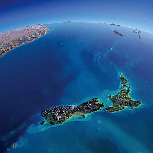 紐西蘭海底發現巨大淡水庫
