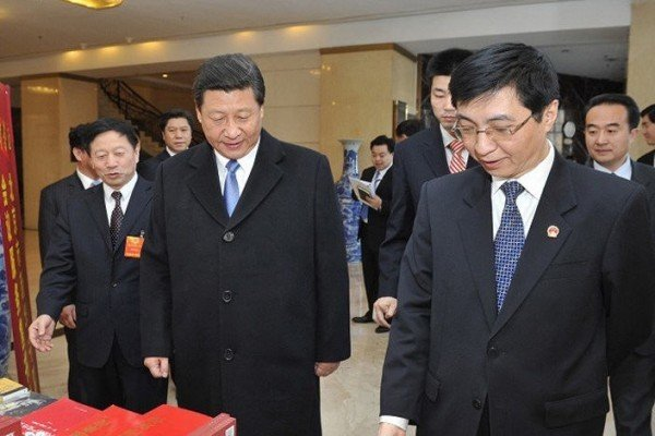 大陸網上傳出王滬寧將調往重慶。(Getty Images)
