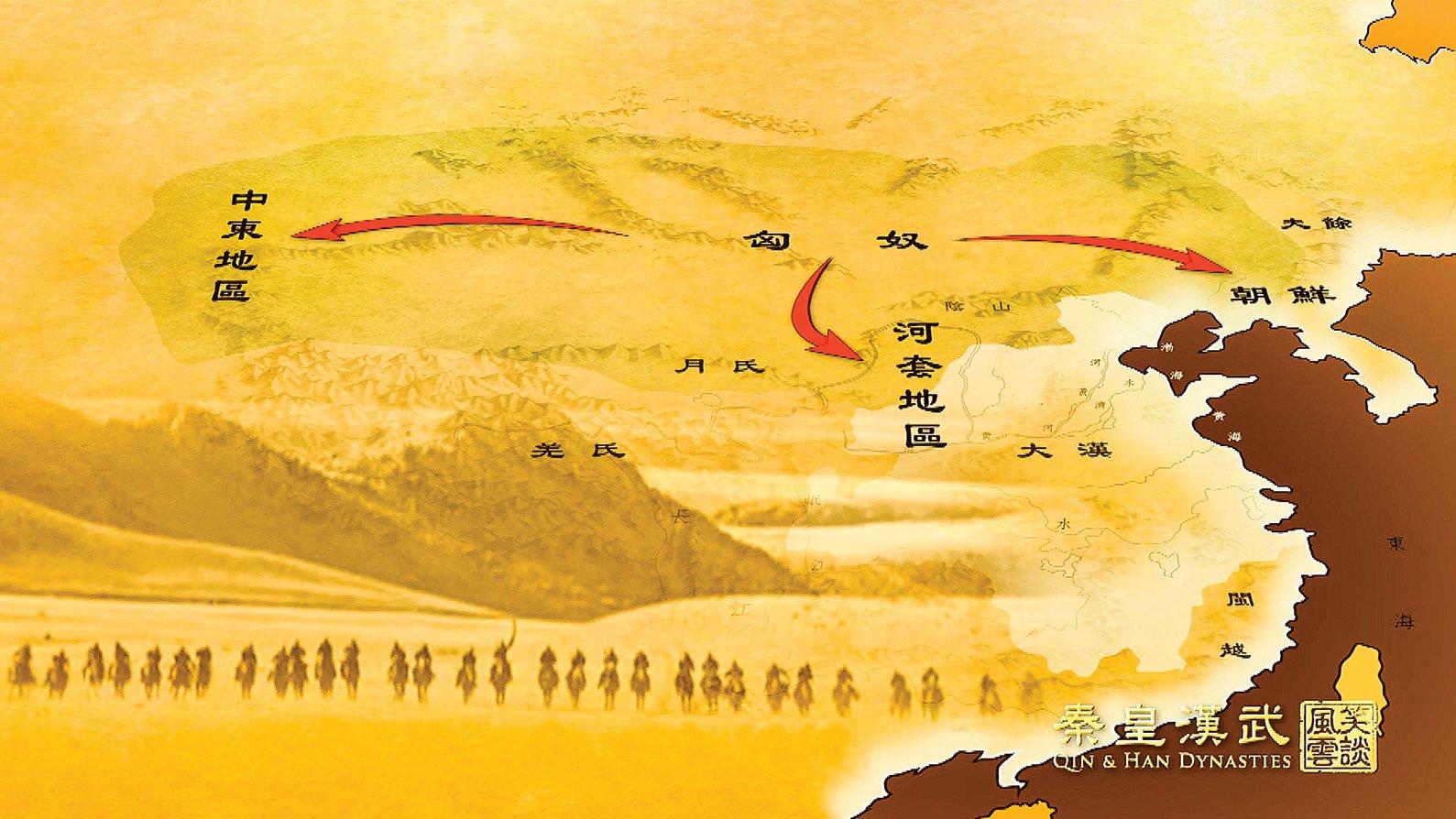 冒頓單於統一了現在的蒙古草原,建立了強大的匈奴帝國,疆域十分廣闊,是匈奴帝國史上最強大的時期。