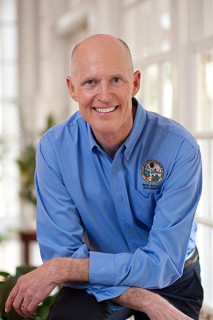 美國佛羅里達州參議員Rick Scott(維基百科)