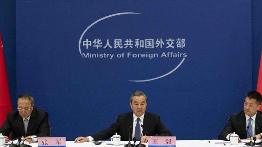 中共外交部獲得了「斷交部」「戰狼部」的綽號。示意圖(AFP/Getty Images)