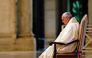 中共病毒攻破梵蒂岡 教宗:感到恐懼和迷失