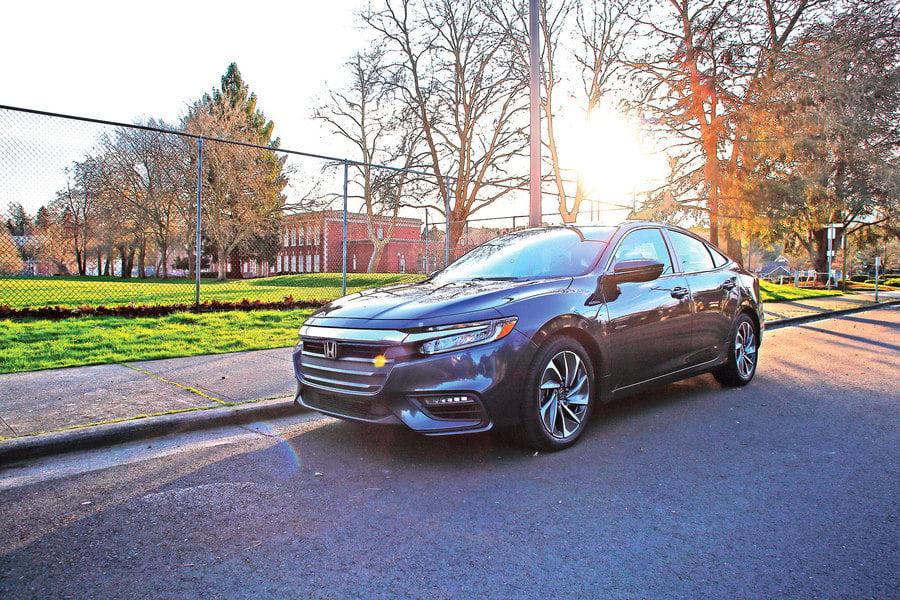 串聯與平行 2020  Honda Insight Hybrid