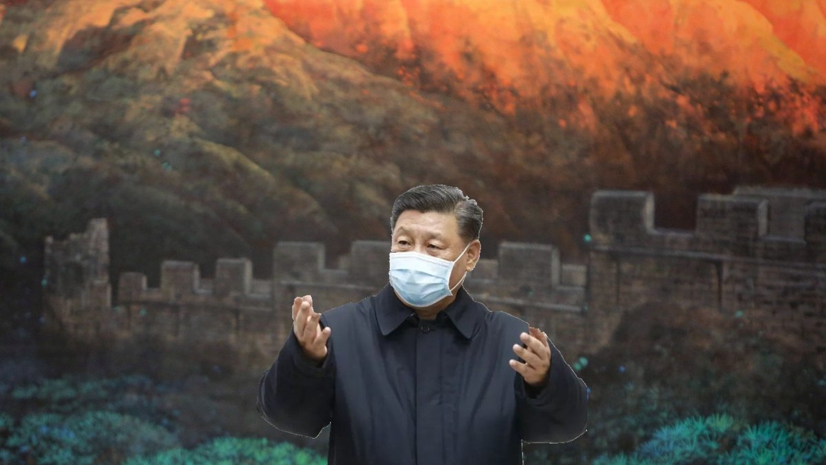 有觀察人士質疑「中共大腦」王滬寧把習近平出賣了。(Getty Images)
