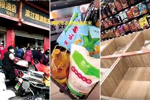 湖北鄂州等地爆搶購糧油