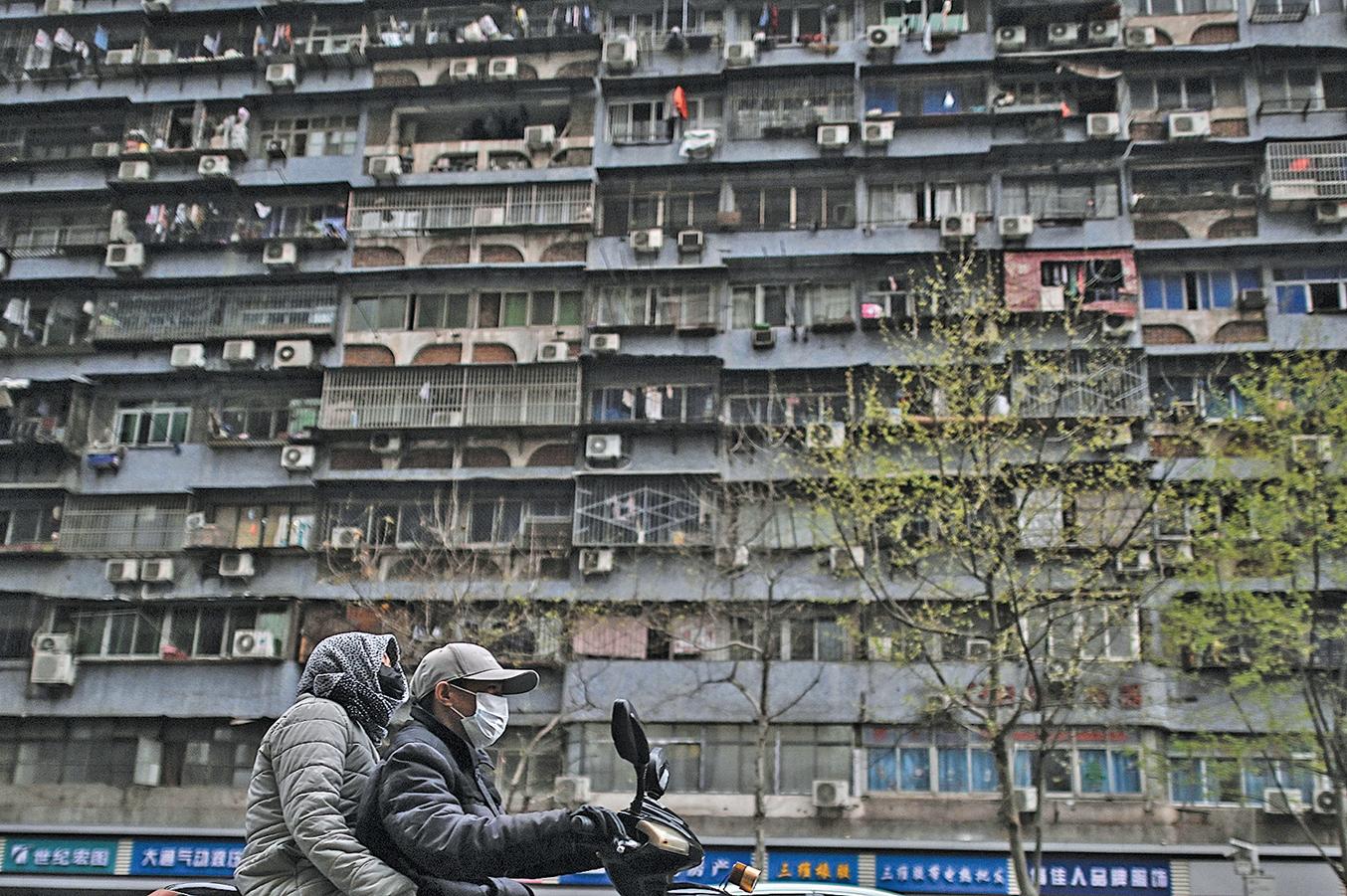 4月1日武漢市的部份街道重新開放。 ( Getty Images)