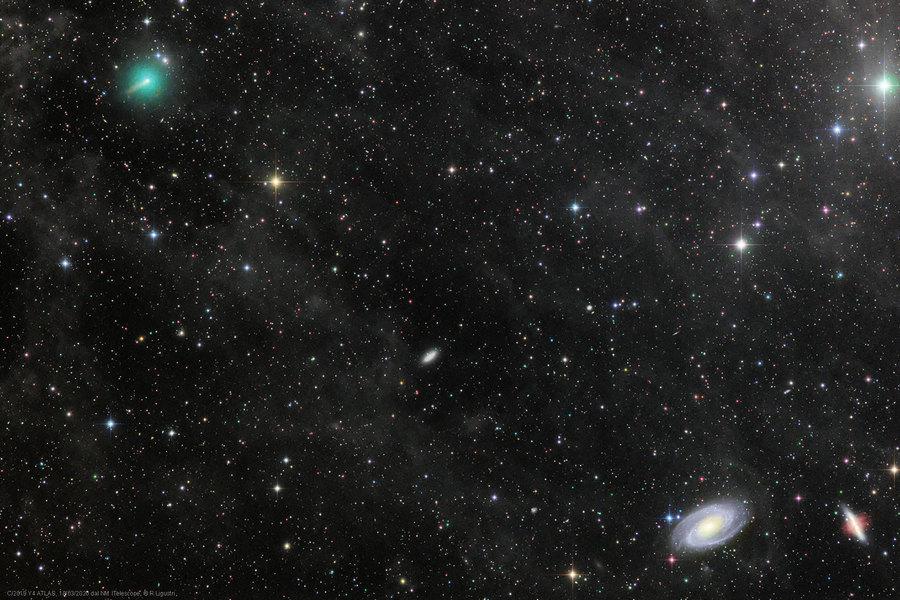 數十年一見:最亮彗星登場北半球夜空