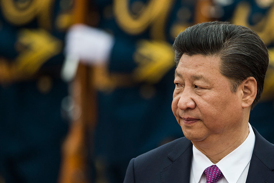 跡象顯示,十九大前,習當局對軍隊反腐的力度還會加大,直至全面清除中共軍內江派殘餘將官。(FRED DUFOUR/AFP/Getty Images)