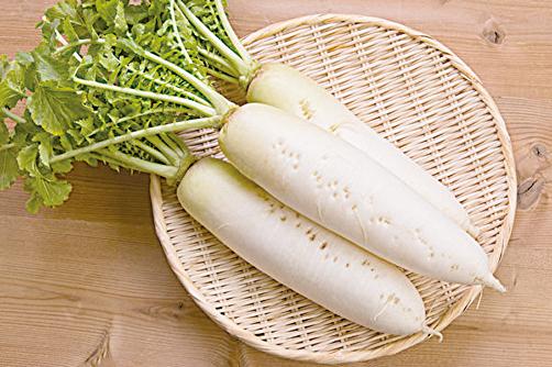 白蘿蔔。(Shutterstock)