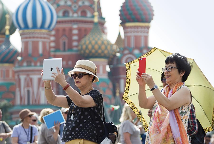 歐洲列國比例較高的可數俄羅斯,陸客份額為6.88%,其餘的一般都不超過5%。(Svetlana Lazarenka / Shutterstock.com)