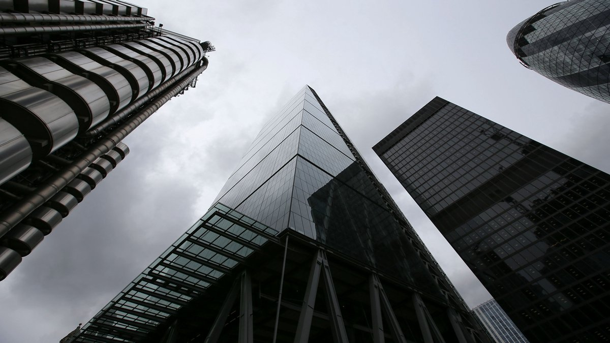 受中共病毒(武漢肺炎)疫情影響,中國各大銀行陷入不良資產和不良貸款的困境,中國房地產市場也急速降溫。示意圖(OLIVAS/AFP via Getty Images)