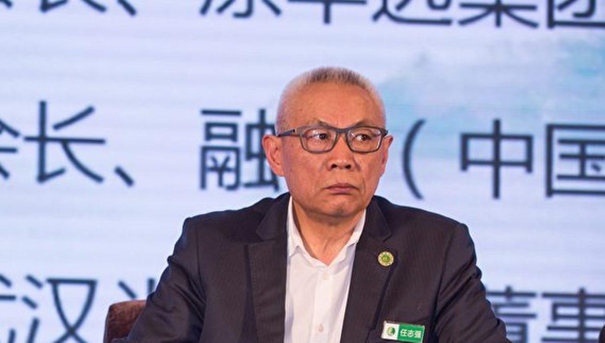 中國華遠集團前總裁任志強2018年4月在成都。(圖片來源:大紀元)