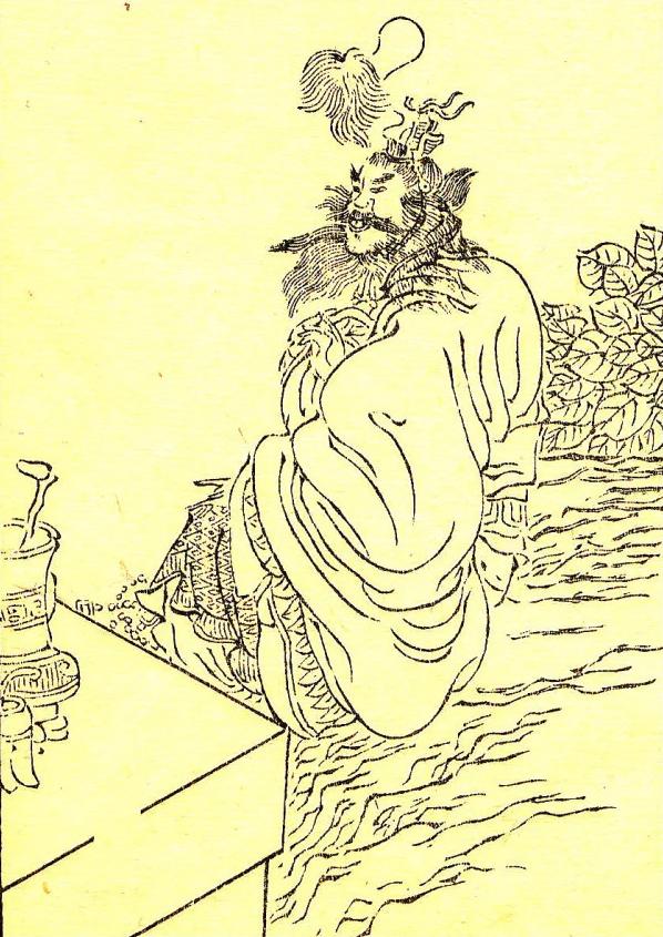 後人稱張天師為道教三祖之一,壽達123歲,在四川渠亭山升仙而去。(圖片來源:公有領域)