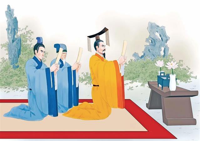 當國家發生天災人禍、政權危難之時,中國古代歷朝歷代的帝王都會沐浴齋戒,祭祀天地神靈。有時會對全天下頒布「罪己詔」。(圖/志清)