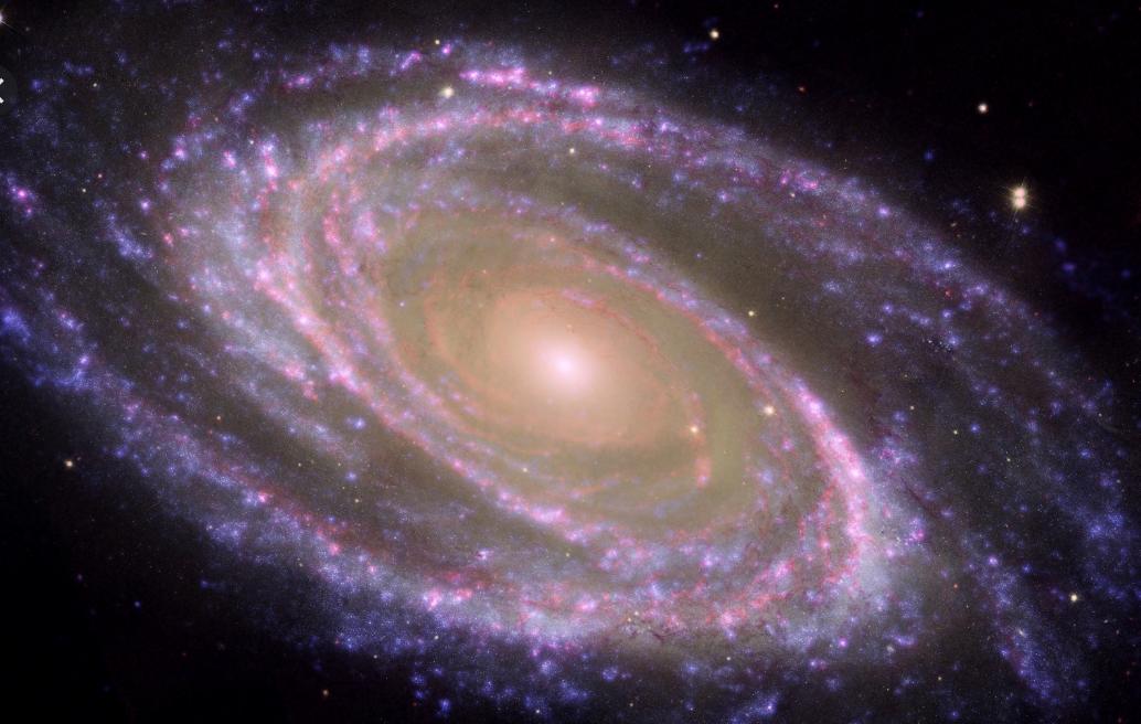 宇宙中的星系。(NASA 官網)