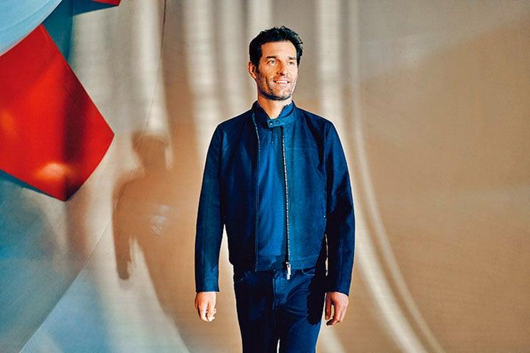 Porsche x BOSS的春、夏男裝,找來前賽車手Mark Webber帥氣演繹廣告。