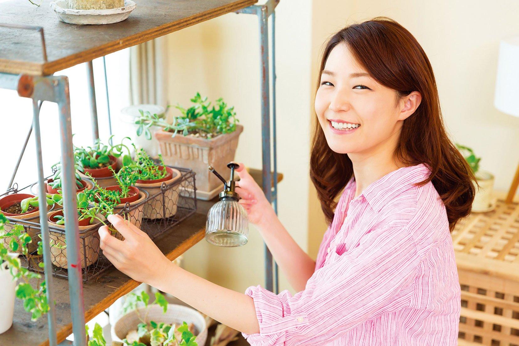 澆水適量即可,植物才能長得健康旺盛。(Shutterstock)
