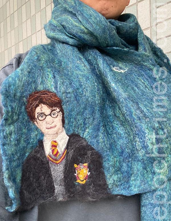 Gisela最新的Harry Potter系列作品。(受訪者提供)