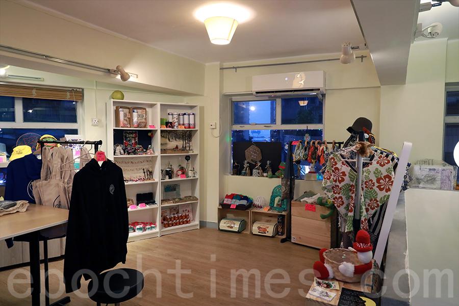 目前Gisela的手作可以在西環手作小店「2nd home」找到。(陳仲明/大紀元)