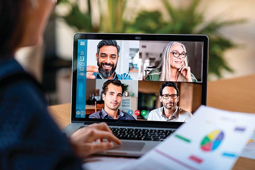 全球疫情延燒,越來越多人必須待在家中工作,個人電腦周邊硬件銷量大增。(Shutterstock)