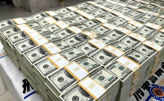 美金鈔票。(網絡圖片)