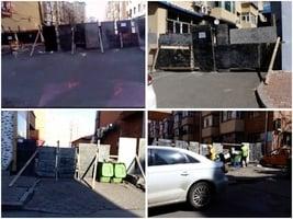 組圖:哈爾濱佳木斯小區再封閉 市民恐慌搶糧