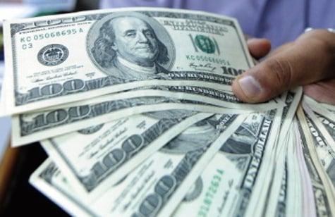 今年3月份,大陸外匯儲備按月減少460.88億美元,創下2016年11月以來最大單月跌幅。(Getty Images)