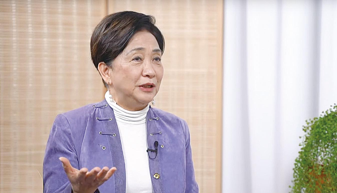 民主黨前主席劉慧卿表示,商經局局長邱騰華抨擊港台記者一事,是干涉港台新聞自由。(採訪影片截圖)
