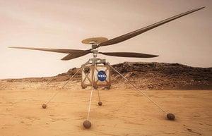 人類首架火星直升機準備就緒