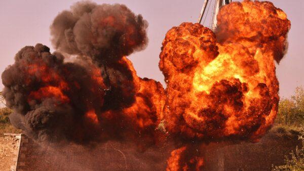 圖為核彈爆炸的示意圖。(JOE KLAMAR/AFP via Getty Images)