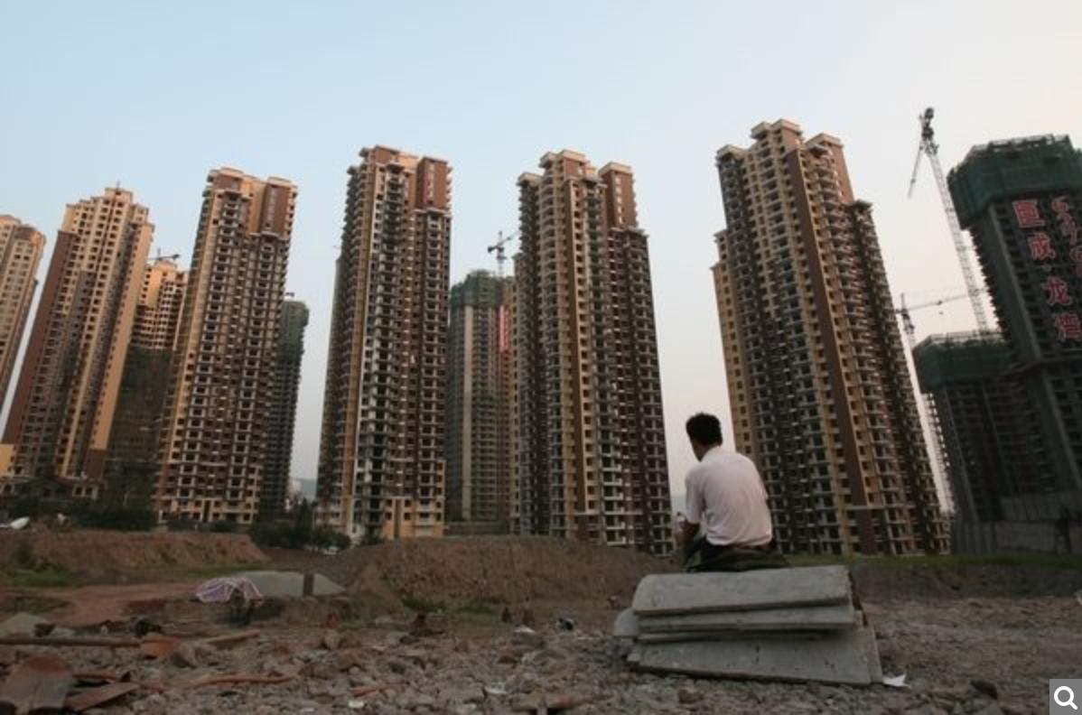 截至2019年7月,大陸宣告破產清算的房地產企業已達275家。(China Photos/Getty Images)