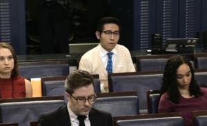 特朗普問「你哪裏來?」 上海東方衞視記者稱台灣