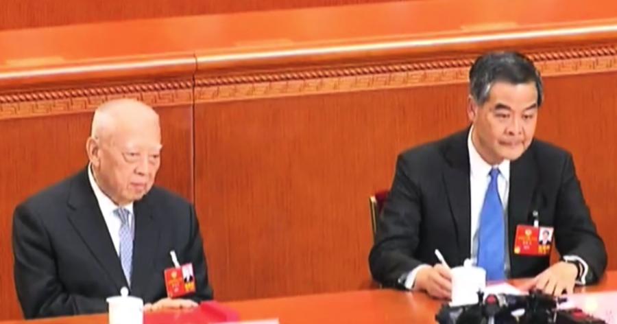 梁振英董建華組公司 備戰立會選舉 被認為幫倒忙