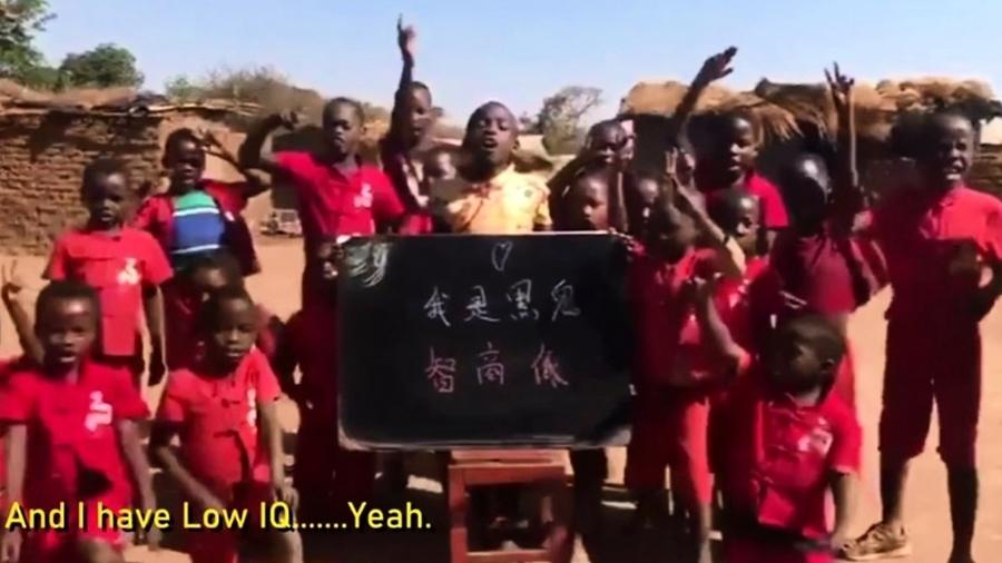 中國人花錢要非洲兒童自辱:「我是黑鬼,智商低」